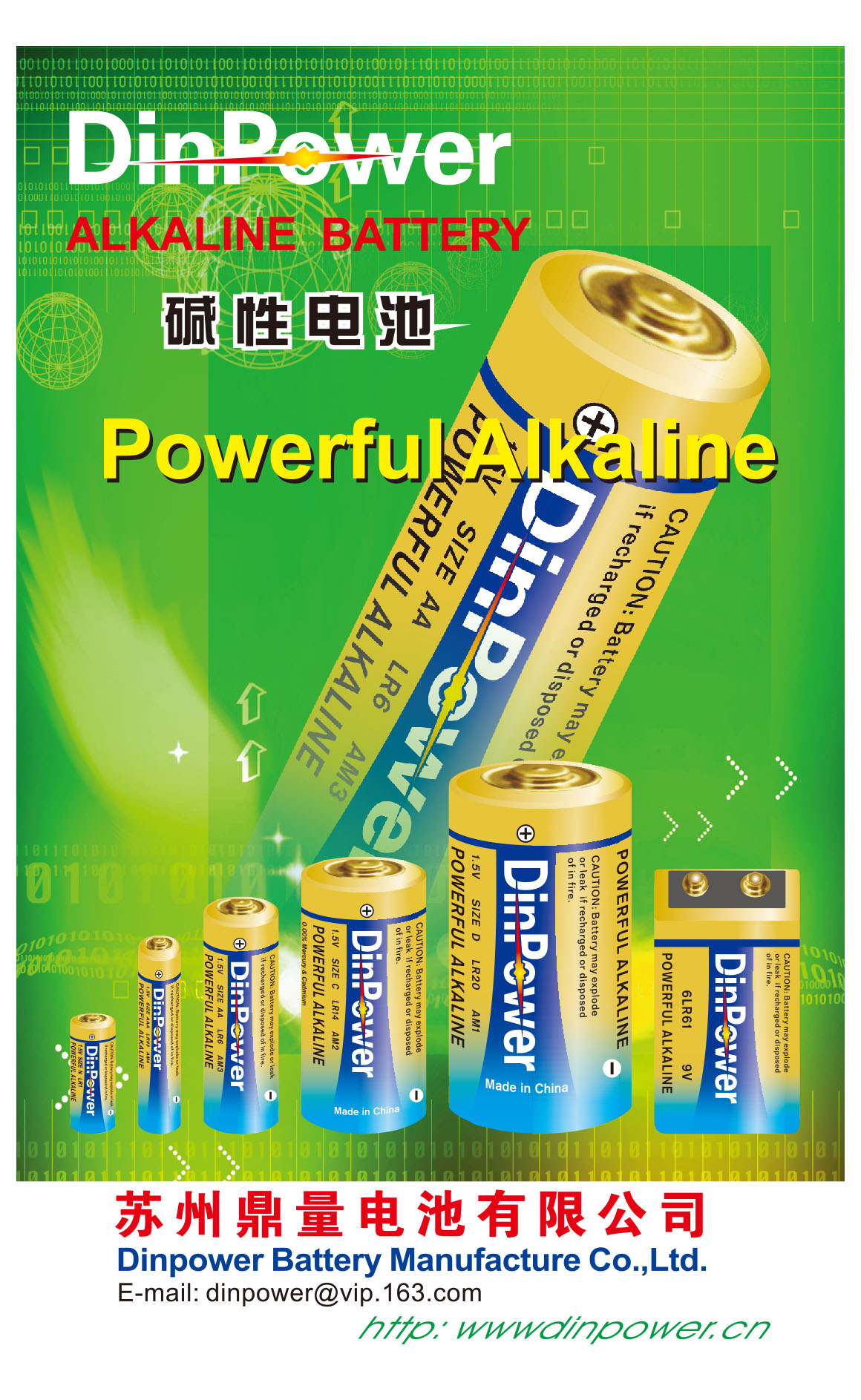 DinPower Battery Manufacture Co.,LTD