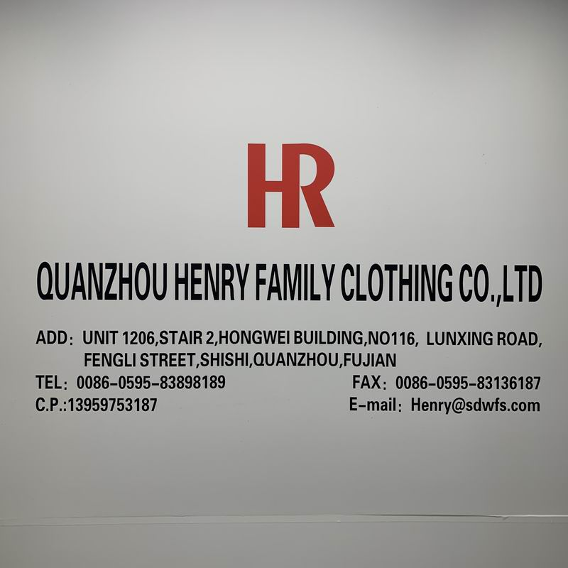 QUANZHOU HENRY FAMILY CLOTHING COMPANY
